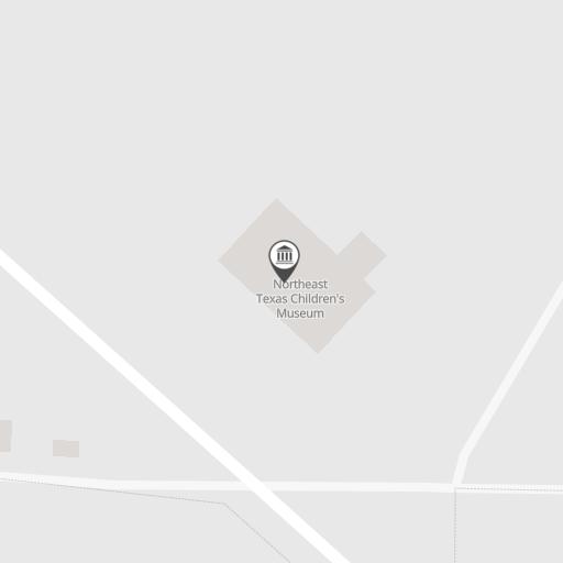 Map of Northeast Texas Children's Museum