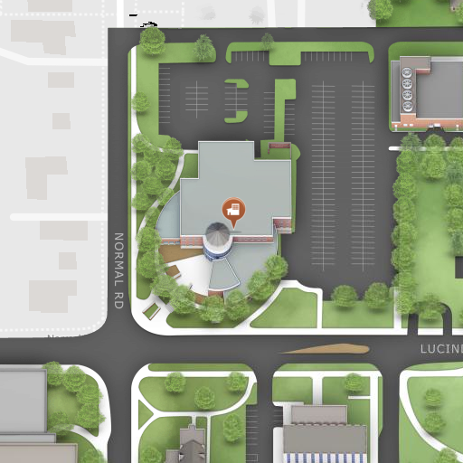 Map of Campus Life Building