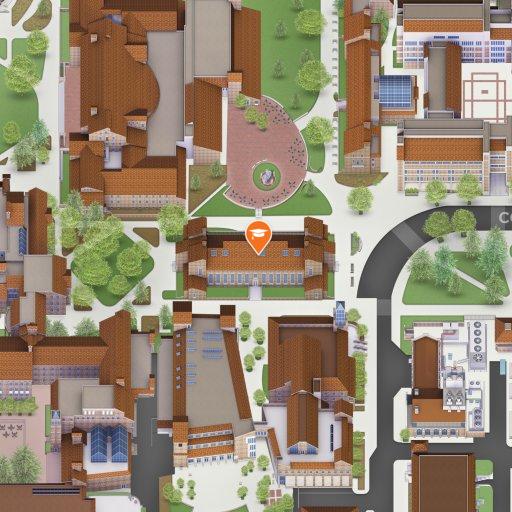 Map of Ketchum Arts and Sciences