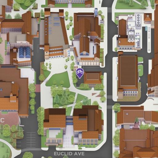 Map of UMC Bike Station